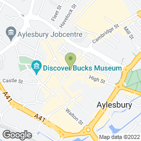 Map of The Sun & Beauty Trap Ltd in Aylesbury, buckinghamshire