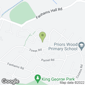 Map of PAGE & SONS REMOVALS & STORAGE in Ware, hertfordshire