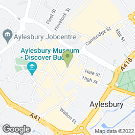 Map of Ola Flowers in Aylesbury, buckinghamshire