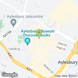Map of Christopher Pallet Letting Agents in Aylesbury, buckinghamshire