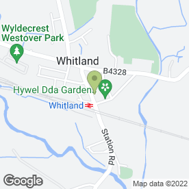 Map of Llewelyn Davies in Whitland, dyfed