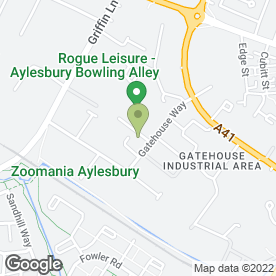 Map of Northgate Vehicle Hire Ltd in Aylesbury, buckinghamshire