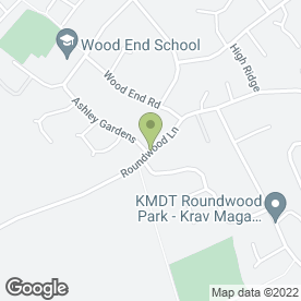 Map of Nails Etc in Harpenden, hertfordshire