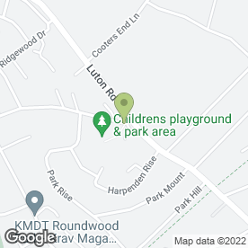 Map of M & D Paving Services in 5, Roundwood Lane, Harpenden, hertfordshire