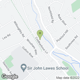 Map of JMS PLANT HIRE in Harpenden, hertfordshire