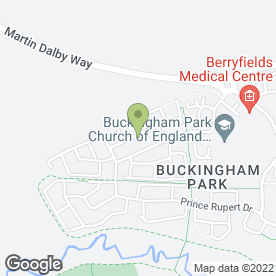 Map of MACS BIG SNACKS in Aylesbury, buckinghamshire