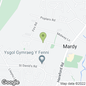 Map of Brick - A - Block in Mardy, Abergavenny, gwent