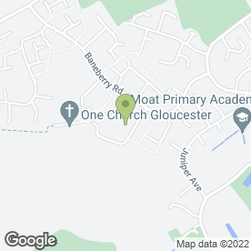 Map of Ciji's Beauty Room in Gloucester, gloucestershire