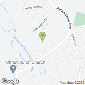 Map of Gloucester Phone Repairs in Abbeymead, Gloucester, gloucestershire