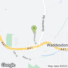 Map of Hart Veterinary Centre Waddesdon in Aylesbury, buckinghamshire