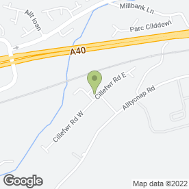 Map of Fire & Security Alarms Ltd in Johnstown, Carmarthen, dyfed