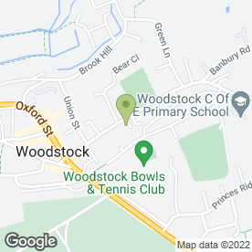 Map of Medivet Woodstock in Woodstock, oxfordshire