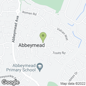 Map of A.D.B. Electrical Services Ltd in Abbeymead, Gloucester, gloucestershire