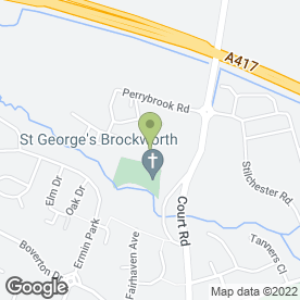 Map of Cat's Eye Carving in Brockworth, Gloucester, gloucestershire
