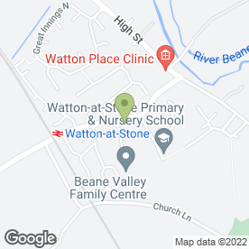 Map of Grassroots Landscapes in Watton At Stone, Hertford, hertfordshire