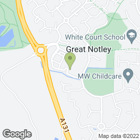 Map of Great Notley Hair & Beauty in Great Notley, Braintree, essex