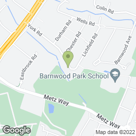Map of C G Security Systems Ltd in Gloucester, gloucestershire