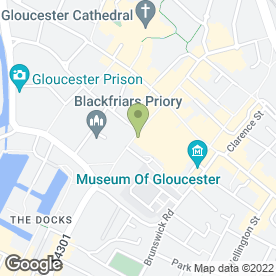 Map of Cafe Rene in Gloucester, gloucestershire