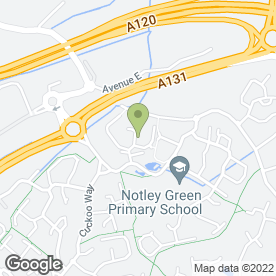 Map of Boss Beauty in Great Notley, Braintree, essex