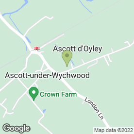 Map of A.R.D Reed in Ascott-Under-Wychwood, Chipping Norton, oxfordshire