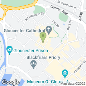 Map of The Coffee Cup in Gloucester, gloucestershire
