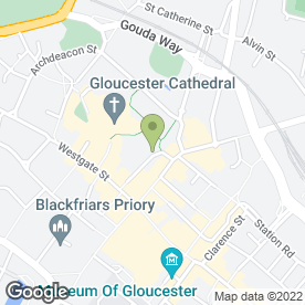 Map of Sweet Success in Gloucester, gloucestershire
