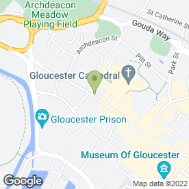 Map of Pic-a-Color in Gloucester, gloucestershire