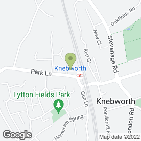 Map of Hamilton Restoration in Knebworth, hertfordshire