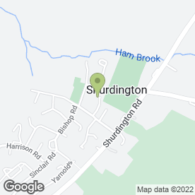 Map of EUROLINK SECURITY & TECHNOLOGY GROUP in Shurdington, Cheltenham, gloucestershire