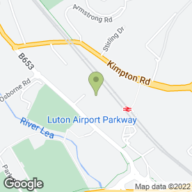 Map of ILT Taekwondo in Luton, bedfordshire