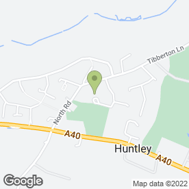 Map of AJM Plumbing And Heating Services Ltd in Huntley, Gloucester, gloucestershire