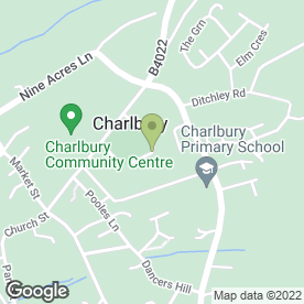 Map of EstatesDirect.com in Charlbury, Chipping Norton, oxfordshire
