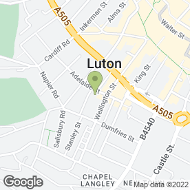 Map of Divine Property Buyer's & House Renovators in Luton, bedfordshire