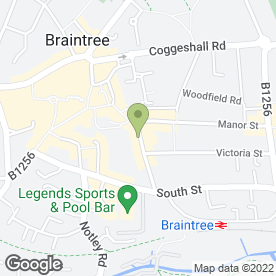 Map of More Estate Agents in Braintree, essex