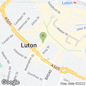 Map of Espresso Internet Cafe in Luton, bedfordshire