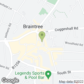 Map of Homepride in Braintree, essex