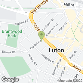Map of A1 SECURITY HOME COUNTIES (UK) in Luton, bedfordshire