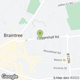 Map of STEED & STEED LLP in Braintree, essex