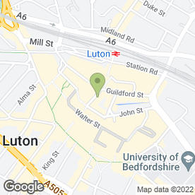 Map of Empire Of Style in Luton, Luton, bedfordshire