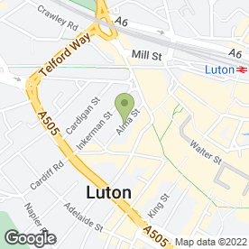 Map of Taylor Walton Solicitors in LUTON, bedfordshire