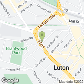 Map of Pictons Solicitors in Luton, bedfordshire