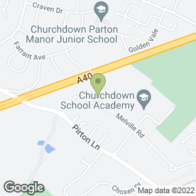 Map of A1 Chosen Sign Co in Churchdown, Gloucester, gloucestershire