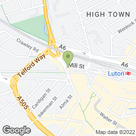 Map of Luton Army & Navy Stores in Luton, bedfordshire