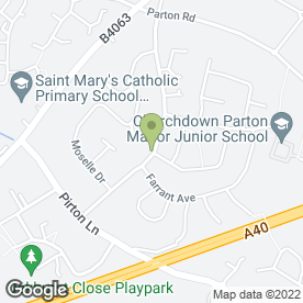 Map of M & K Rees in Churchdown, Gloucester, gloucestershire