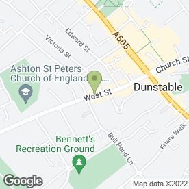 Map of P & L (Cash Registers) Ltd in Dunstable, bedfordshire
