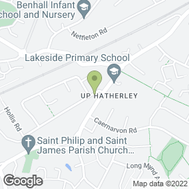 Map of Playhouse Day Nursery Cheltenham in Cheltenham, gloucestershire