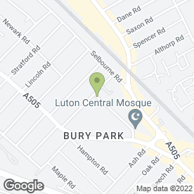 Map of Dr Prasad & Partners in Luton, bedfordshire