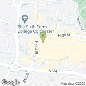 Map of Debenhams in Colchester, essex