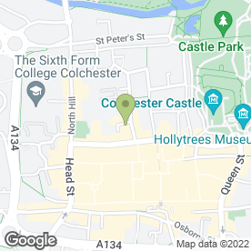 Map of John Fowlers LLP in Colchester, essex