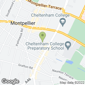 Map of Fairford Tree Services in Cheltenham, gloucestershire